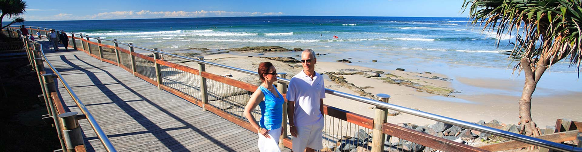 Caloundra Coastal boardwalk